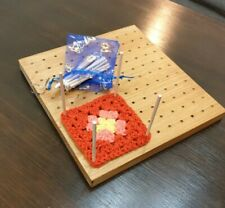 Crochet Blocking Board. Handcrafted  from solid wood