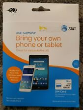 At&T Prepaid Starter Kit 4G Lte Sim Card for Standard,Micro,Nano Sim devices