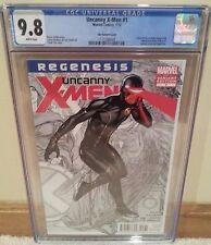 Uncanny X-Men #1 3rd Series CGC 9.8 Frank Cho 1:25 Variant Regenesis - Wolverine