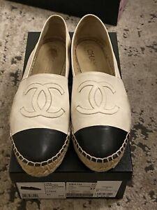 100% Authentic Chanel Espadrilles 37