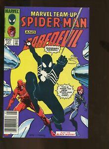 MARVEL TEAM-UP #141 FINE+ 6.5 SPIDER-MAN BLACK COSTUME / DAREDEVIL 1984