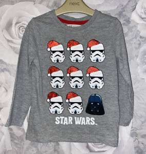 Boys Age 2-4 Years - H&M Christmas Star Wars Long Sleeved Top