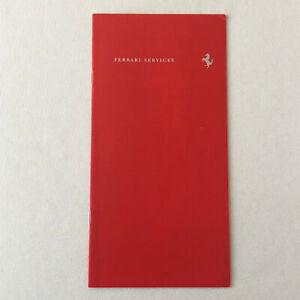 Ferrari Services Sales Brochure Catalog 360 Challenge Racing Carrozzeria GERMAN