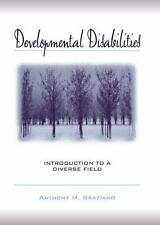 Developmental Disabilities : Introduction to a Diverse Field by Anthony M....