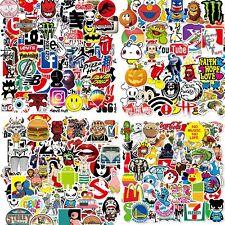 100/200/300 Skateboard Stickers Bomb Vinyl Laptop Luggage Decal Dope waterbottle