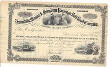 HESTONVILLE,MANTUA & FAIRMONT PASSENGER RAIL ROAD COMPANY...STOCK CERTIFICATE