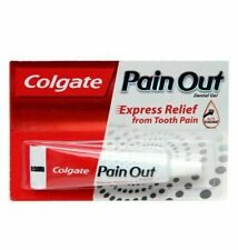 8x Colgate Pain Out Dental Gel - Express Relief from Tooth Pain - 10gm AU