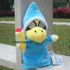 "Super Mario Wiki Plush Toy Kamek Bros Koopa 10"" Magic Turtle Plush Toy Doll Game"