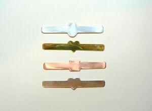 Signet Ring Blanks jewellery making Copper Brass Aluminium Silver 3 Styles.
