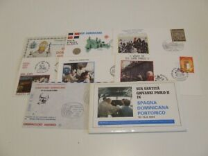 VATICAN CITY 1984 POPE JOHN PAUL VISIT TO SPAIN COMMEM COVERS IN PACK