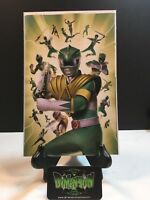 MIGHTY MORPHIN POWER RANGERS #31 LAFUENTE GREEN RANGER VARIANT 2018 NM