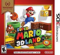 Super Mario 3D Land  (Nintendo 3DS) (Nintendo Selects) BRAND NEW