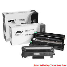 TN770 DR730 Toner Cartridge +Drum Combo (With Chip for Brother TN770)
