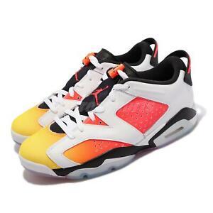 Nike Air Jordan 6 Retro Low SE VI Dongdan White Orange Men Basketball DC1048-110
