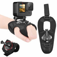 For GoPro Hero9 Sports Camera 360° Rotation Mount Action Cam Hand Strap Wrist