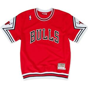 Chicago Bulls 1987-88 Authentic Shooting Shirt Mitchell & Ness
