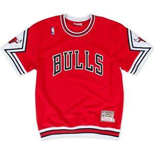 Chicago Bulls 1987-88 Authentic Shooting Shirt Mitchell & Ness