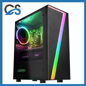 Seven Gaming PC Computer Intel i5 11600K 2TB HDD 480GB SSD 32GB RAM 6GB GTX1660
