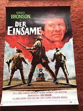Der Einsame Kinoplakat Poster A1, Charles Bronson, Western, George Kennedy