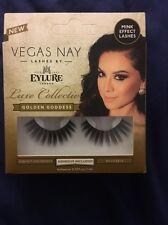 New Vegas Nay Eylure False Eyelashes Luxe Collection - Golden Goddess