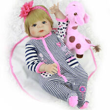 Cute Rompers Headband Suit for 22-23inch Baby Reborn Newborn Dolls Clothes