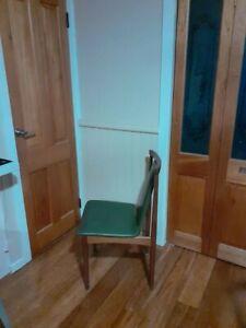 Retro mid century teak dining chairs