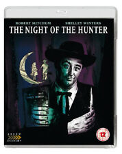 The Night of the Hunter New Classic Blu-Ray Disc Charles Laughton Robert Mitchum
