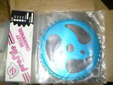 NOS Profile RIPSAW 2 40T Sprocket  BLUE Anodized BMX Chainwheel Mid School