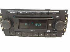 Dodge Chrysler Jeep radio single CD 04-09 REF 5064173AF Aux in Durango Nitro 300