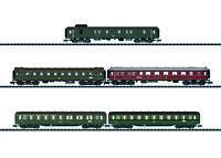 """Trix Minitrix 15680 Schnellzug-Wagenset """"D 182"""" der DB 5-teilig #NEU OVP#"""