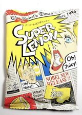 Japanese Extreme Super Sour Lemon Flavored 3 Layered Candy, Super Lemon Candy