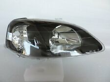 Type R Style EK9 EK4 black Headlight Right R For 1999-2000 Honda Civic CTR Si