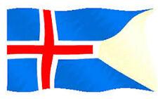 Bandiera Islanda Marina Militare - National Flag of Island Navy
