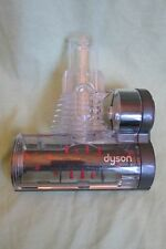 Dyson Mini Turbine Power Brush Grey & Clear~Pet~Stairs ~Upholstery - Used Once!