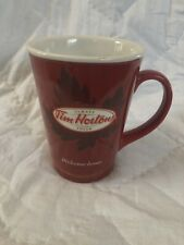 Tim Hortons Coffee Mug Limited Edition # 11 Welcome Home Cup Maple Leaf
