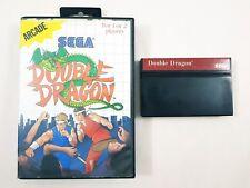 Double Dragon Sega Master System Game Cartridge & Case