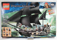 LEGO Pirates of The Caribbean - 4184 Black Pearl 804 pcs Sealed NISB Davy Jones