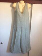 Zara Trafaluc Sleeveless Wool Blend Light Mint Green Jumpsuit Size S NWT