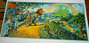 The Wizard of Oz 1000 Piece Jigsaw Puzzle Scott Gustafson Art Rainbow