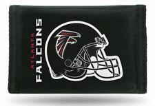 Caseys Distributing 2499499401 Atlanta Falcons Nylon Trifold Wallet