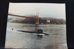 MILITARY SHIP PHOTO USS HADDOCK (SSN-621) 8' X 10' COLOR PHOTO (P1236)