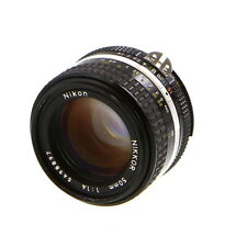 Nikon Nikkor 50mm F/1.4 AIS Manual Focus Standard Lens {52} - UG