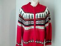 HEIRLOOM COLLETIBLES Womens L Ugly Christmas Sweater  Cotton Ramie 2003