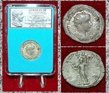 New ListingAncient Roman Coin Gordian Iii Virtus on Reverse Silver Antoninianus