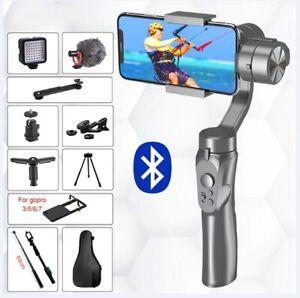 3 Axis Smart Gimbal Stabilizer Selfie Stick Smartphone Action Camera Video Stick
