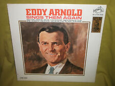 EDDY ARNOLD SINGS THEM AGAIN  1960 RCA VICTOR BRAND NEW LP