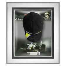 Signed Jenson Button Brawn GP Cap Framed Display - F1 2009 World Champion