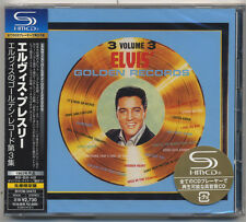 Elvis Presley Japan LTD  SHM CD GOLDEN RECORDS Vol.3 Japanese