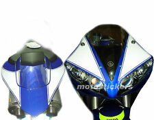 YAMAHA R1 04/06 - kit tabelle adesive ant. e posteriori - racing decals