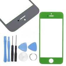 Front Screen Glass replacement part for Iphone 5S 5C 5 S lcd display with tool